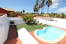 Villa with swimming pool in Corralejo