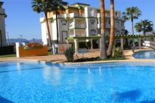 Amazing apartment with a swimming pool and 400m from the Les Marines Beach