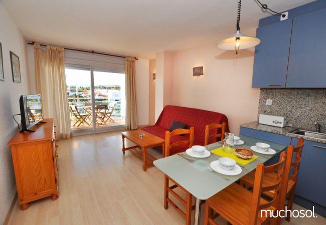 Apartment with swimming pool in Santa Margarita area, Rosas / Roses - Ref. 86767-5